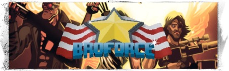 Broforce Baner